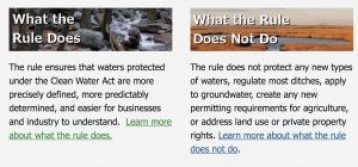 Clean Water Rule, EPA