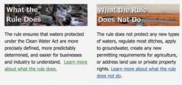 Clean Water Rule, EPA