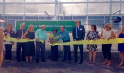 Cal Poly Pomona Ribbon Cutting Ceremony for new greenhouse to raise Tamarixia Radiata.