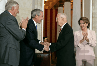 Norman Borlaug, Congressional Gold Medal