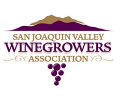 SAN Joaquin Valley  Winegrowers Association, (sjvwa) logo