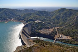 Raising Shasta Dam Hit's Snag