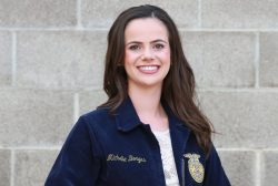 Michelle Borges with Hughson FFA Is Working Hard to Win a Star Reporter Award at CA FFA Convention in April