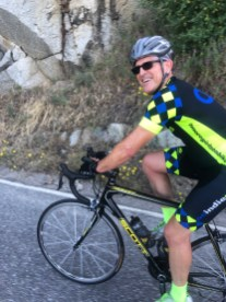 Happy rider on Tollhouse Road