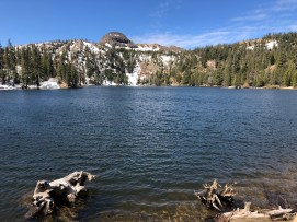 A thawed our Kinney Reservoir.