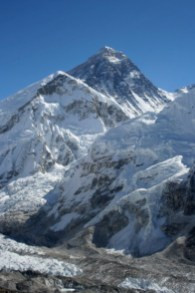 Mt Everest - Image courtesy of wikipedia