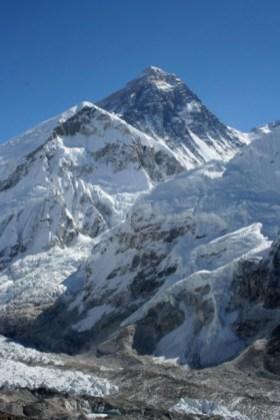 Mt Everest - Image courtesy of wikipedia
