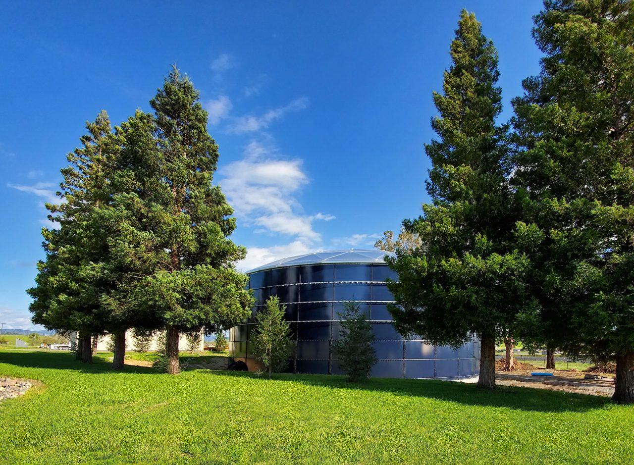 Northern California Public Utility Municipal Water Tank | California Aquastore