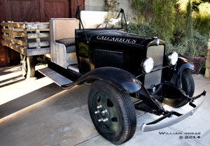 Calif Bottle of Wine Hodge Calcareous truck