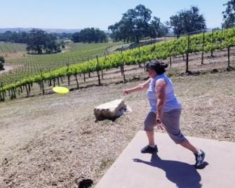 Castoro Winery Disc Golf Course