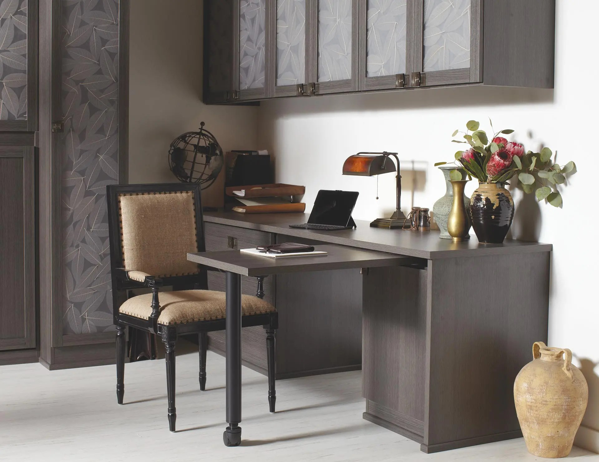brown office guest chairs high seat beach chair home storage furniture solutions & ideas by california closets