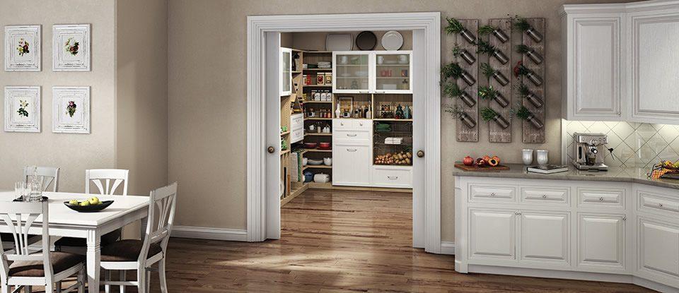 kitchen closets appliences pantry cabinets organization ideas california