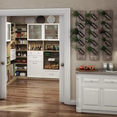 Pantry Kitchen Designer Portland Oregon Cabinets Organization Ideas California Closets White And Light Wood Themed With X Design Cubbies Metal Pull Out Baskets Glass