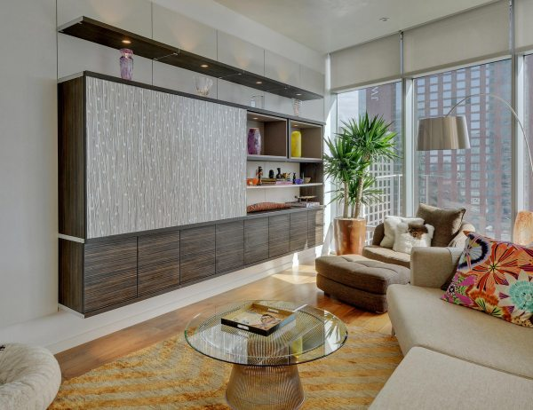 Built-in Entertainment Centers & Media Cabinets