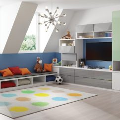 Living Room Cabinet Design Ideas How To Choose Rug For Family Storage By California Closets Cheery Attic Playroom
