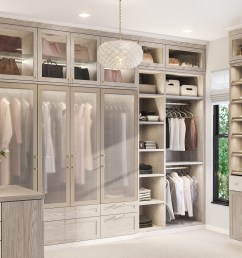 california closets brooks master walk in closet in albero grigio finish [ 1920 x 1481 Pixel ]