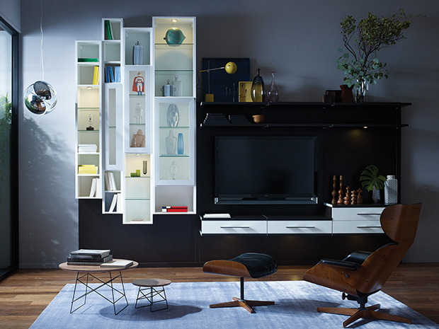 media center living room decorate modern built in entertainment centers cabinets california closets director