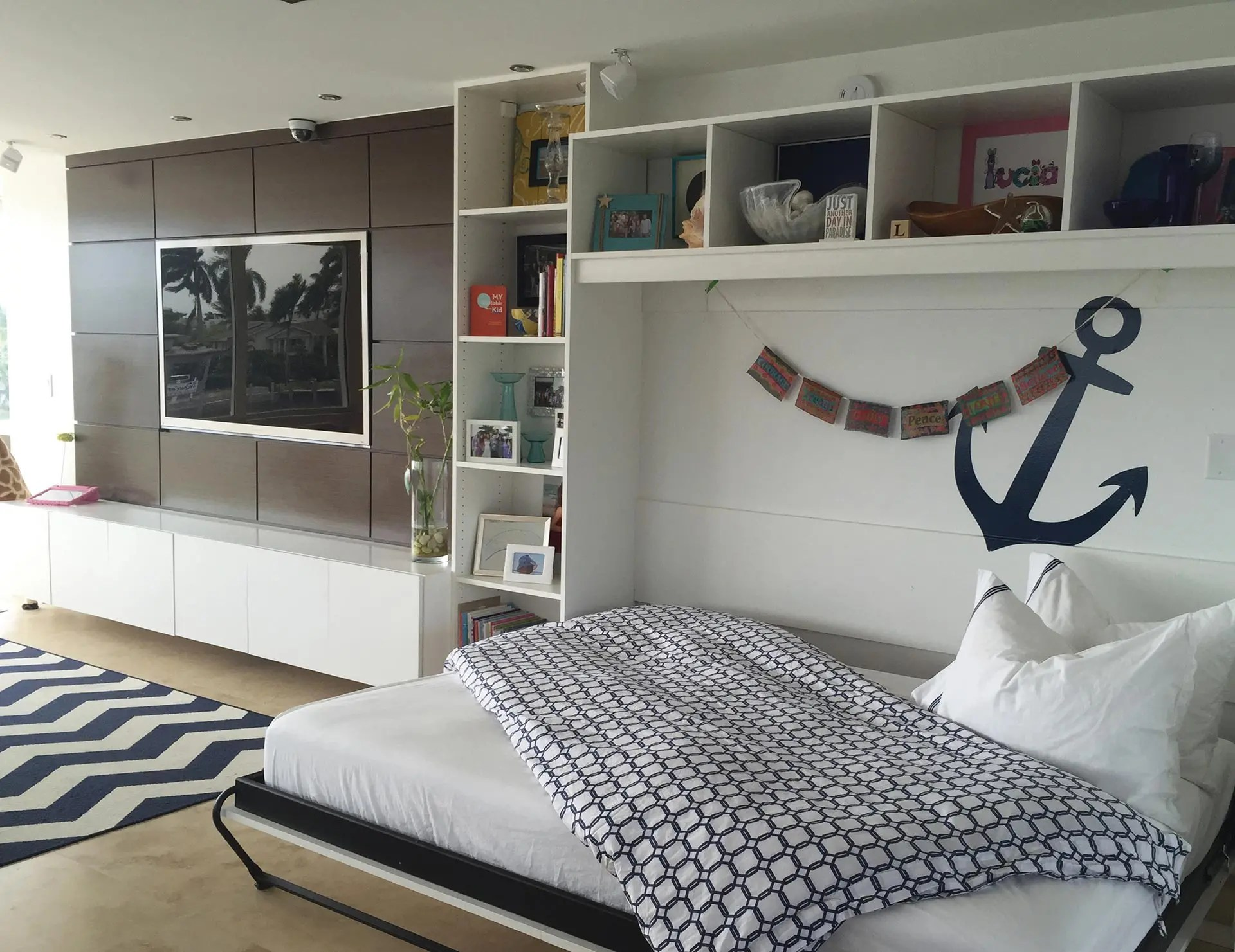 murphy bed in small living room native american decor beds wall designs ideas at california closets edgartown convertible