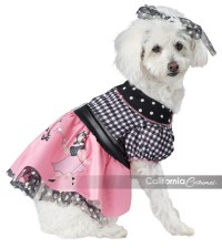 50'S POODLE POOCH DOG COSTUME - California Costumes