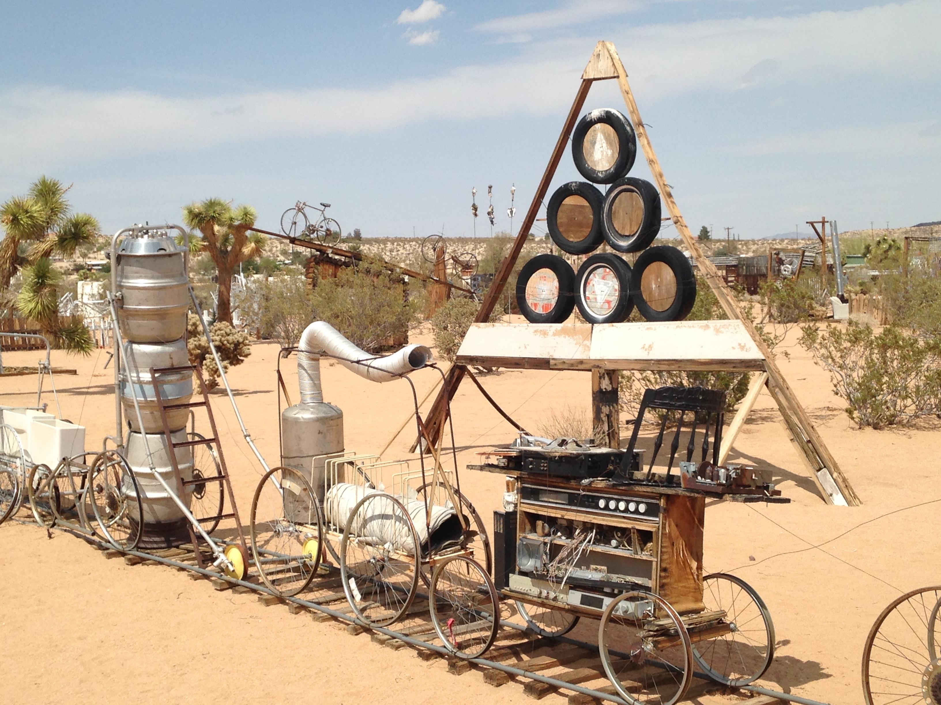 Noah Purifoys Desert Art Gallery  California Curiosities