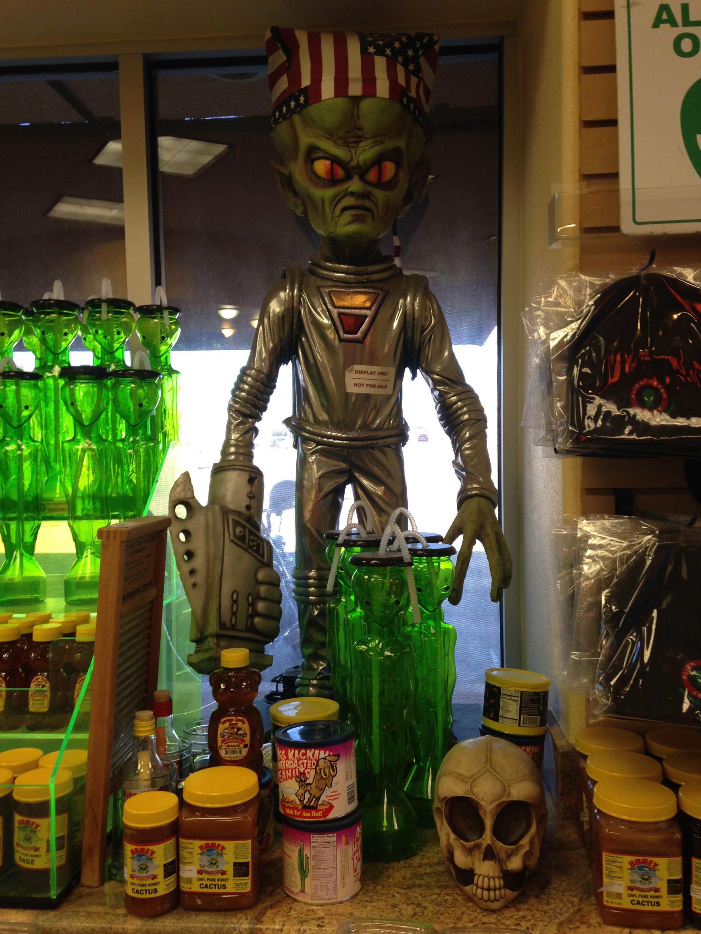Alien Fresh Jerky Locations