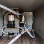 camper van plumbing system.