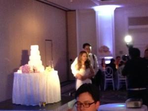 Half Moon Bay Ritz Carlton Wedding reception DJ