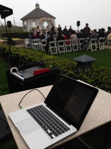 Half Moon Bay Ritz Carlton wedding DJ