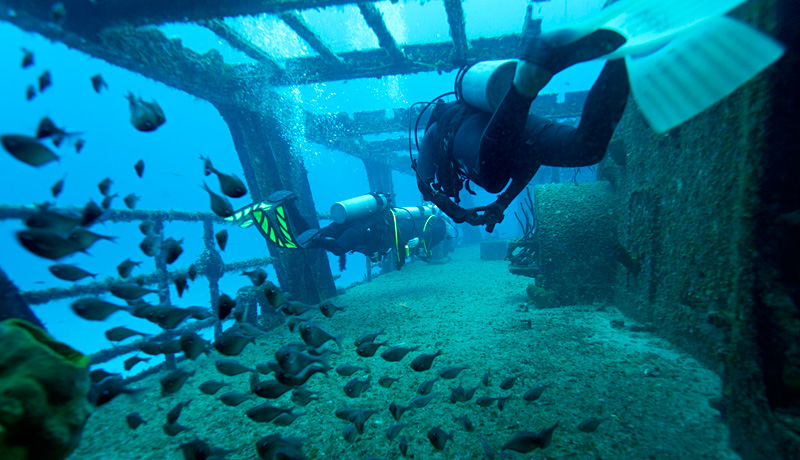 Diving the Felipe Xicotncatl C53 Wreck WWII History in