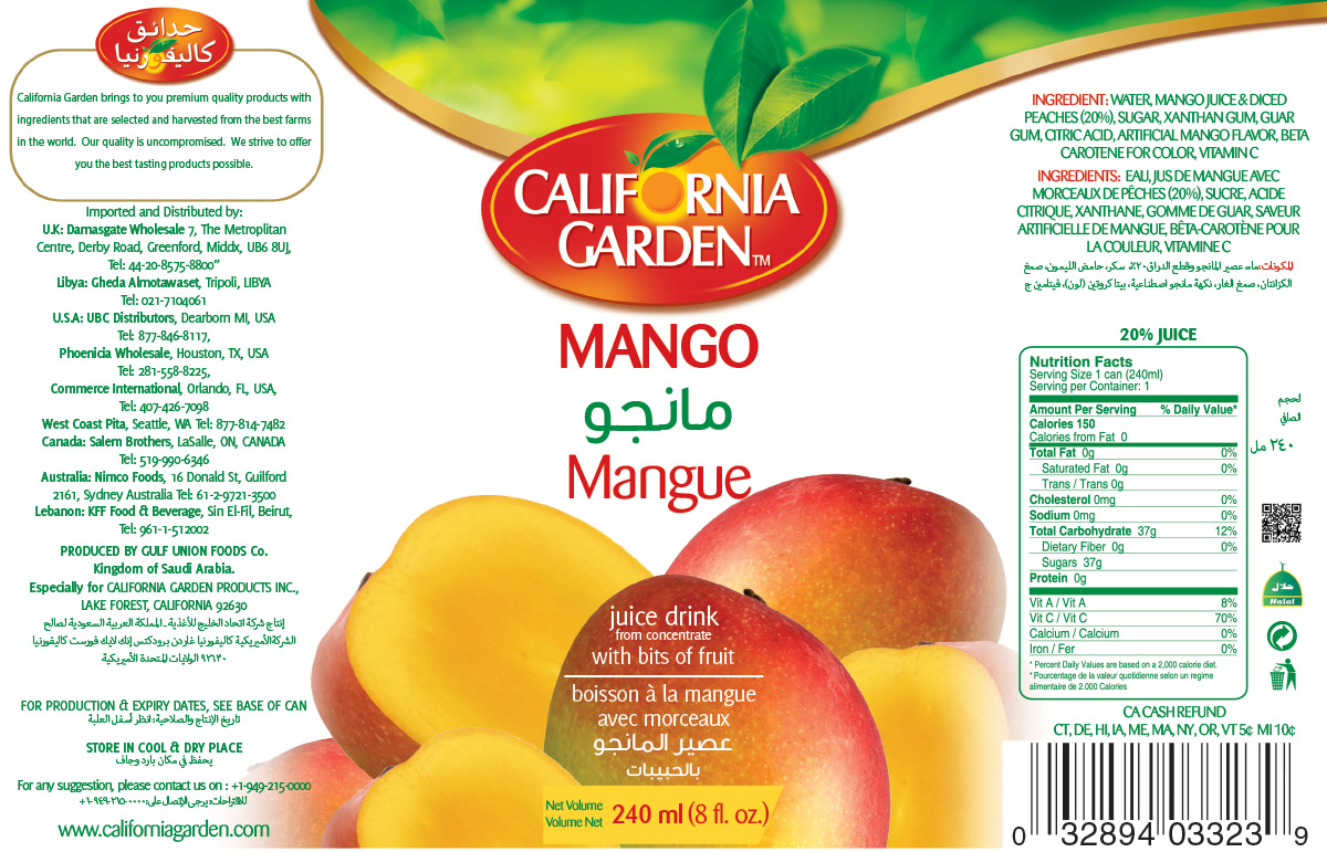 Canned Juices – California Garden