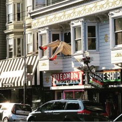 The Haight and Ashbury district