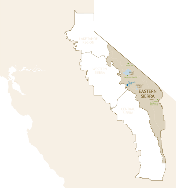 Eastern Sierra High Sierra Visitors Council