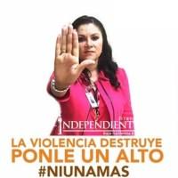 Niega la diputada federal panista Jisela Páes haber sido golpeada por su marido