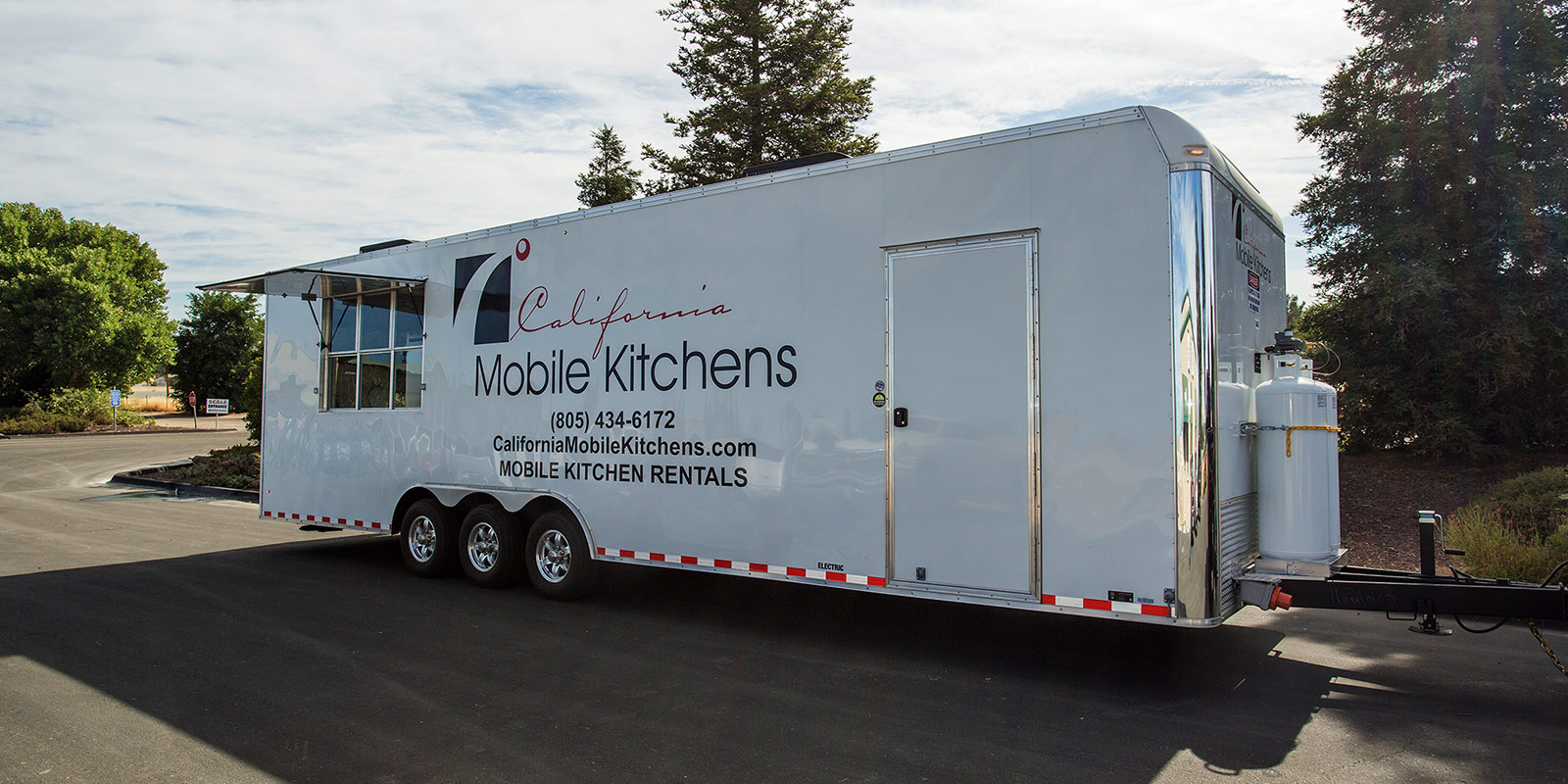 kitchen trailers table lighting fixtures mobile kitchens california 805 434 6172