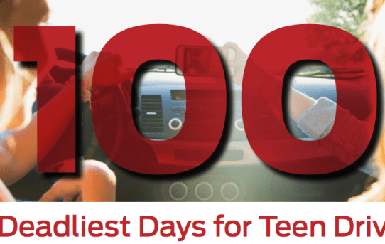 100 Deadliest Days of Summer Begins as Young Driver at-Fault Collisions Trend Upward
