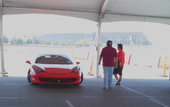 Flooring Ferraris in Fontana is Fantastic Fun