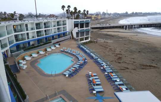 Stay at the Dream Inn For Sand, Sunsets and the Santa Cruz Surf Scene