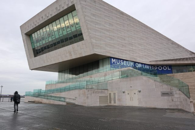 The Museum of Liverpool at Pier Head in Liverpool, England