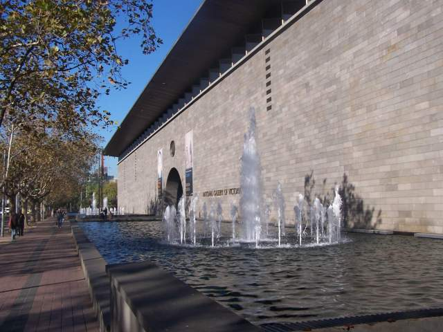 The National Gallery of Victoria in Melbourne