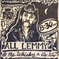 Travis Moore At The Whisky Discussing The Lemmy Statue Ultimate Jam Night