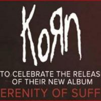 KORN to Perform Private Concert for SiriusXM Octane at the Theatre at Ace Hotel in Los Angeles on 10/21/2016