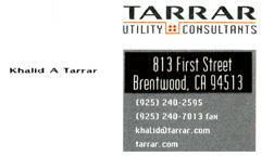 Tarrar Utility Consultants