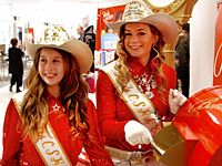 Miss CSHA Kate Sorel <br />and Jr. Miss CSHA Mia Terry