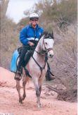 Carol Bischoff and Navigator Fort Meade Remount Pioneer, SD 2011