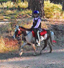 Mary Homicz 2011 Redneck 50 10 Mile Ride