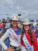 Hanging out with Miss California Rodeo
