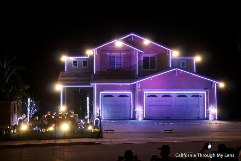 light show house in riverside ca california through my lens