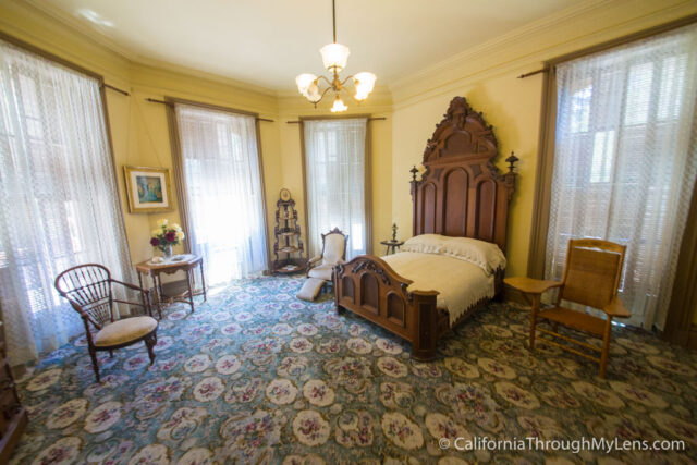 Bidwell Mansion State Historic Park in Chico  California