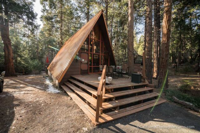 Idyllcreek AFrame Cabin in Idyllwild  California Through