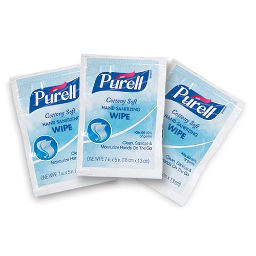 must have sanitizing wipes